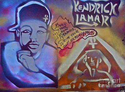 Music Paintings - Kendrick Lamar by Tony B Conscious