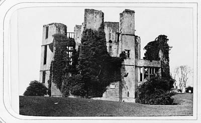 Kenilworth Castle Wall Art - Photograph - Kenilworth Castle, C1869 by Granger