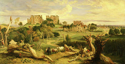 Kenilworth Castle Wall Art - Painting - Kenilworth Castle, Warwickshire Signed And Dated by Litz Collection