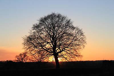 Kenilworth Castle Wall Art - Photograph - Kenilworth Sun Set  by James  Wasdell