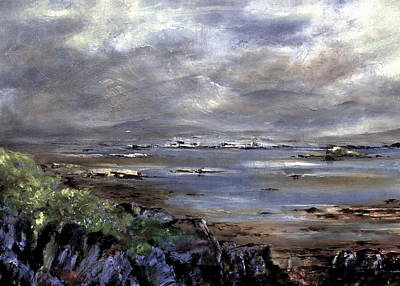 Painting - Kenmare Bay  Kerry by Val Byrne