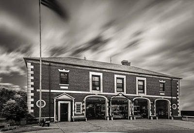 Photograph - Kenmore New York Fire Hall by Chris Bordeleau