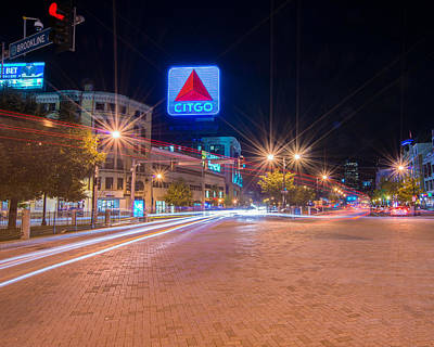 Photograph - Kenmore Square by Bryan Xavier