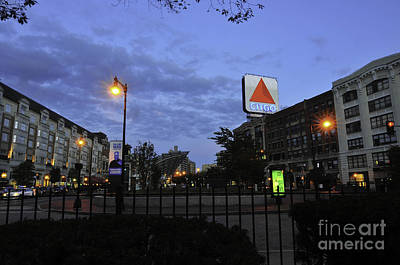 Kenmore Square  Art Print by Catherine Reusch Daley
