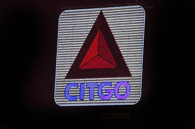 Sox Photograph - Kenmore Square Citgo by Donna Doherty
