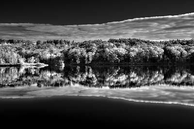 Kennebec Reflections Art Print