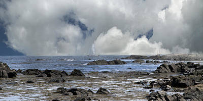 Maine Scene Photograph - Kennebunkport Seascape by Betsy Knapp