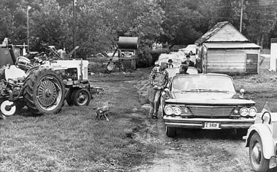 Photograph - Kennedy Visits Iowa Farmer by Underwood Archives