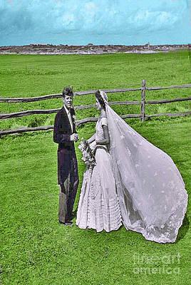 Kennedy Wedding Art Print by Jost Houk