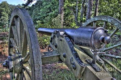 Cannon Photograph - Kennesaw Cannon 3 by Jonathan Harper