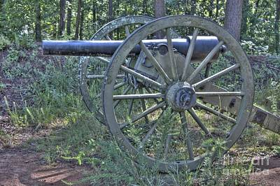 Photograph - Kennesaw Cannon 4 by Jonathan Harper
