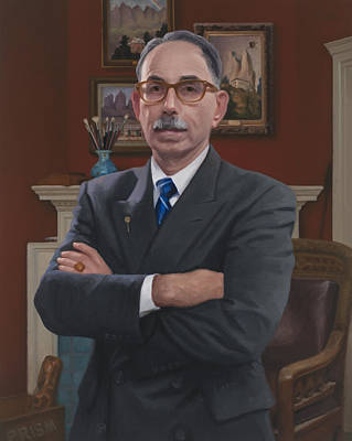 Painting - Kenneth B. Katz by Charles Pompilius