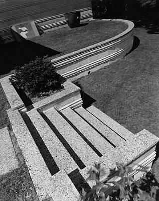Kenneth Kassler's Garden Art Print by Robert M. Damora