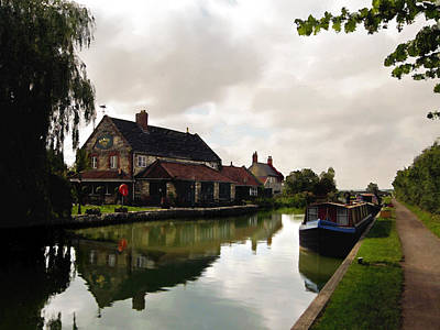 Photograph - Kennett Amd Avon Canal Uk by Kurt Van Wagner