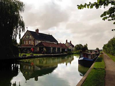 Photograph - Kennett Amd Avon Canal Uk by Kurt Van Wagner