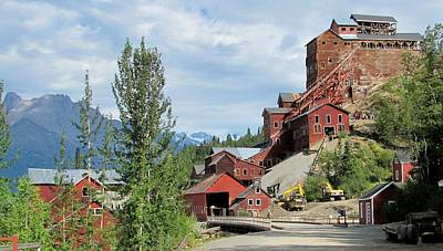 Photograph - Kennicott Copper Mine by Lisa Dunn