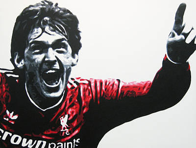 Painting - Kenny Dalglish - Liverpool Fc by Geo Thomson