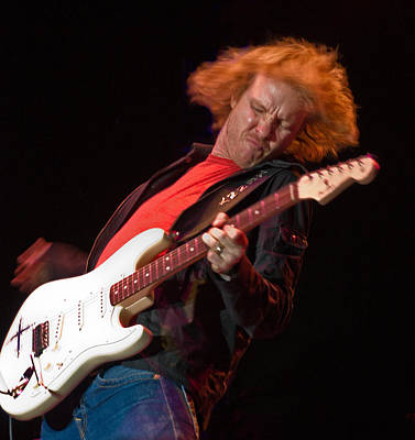 Photograph - Kenny Wayne Shepherd Rocks His Stratocaster by Ginger Wakem