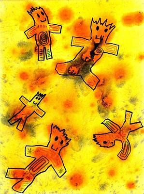 Kennybot Number 1 Art Print by Kenny Henson