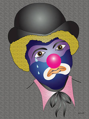 Charles Smith Painting - Kenny's Clown by Charles Smith