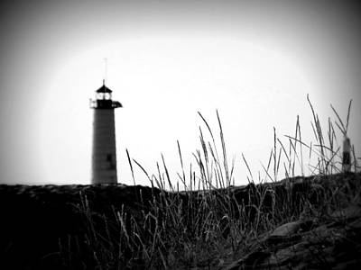 Photograph - Kenosha North Pier Lighthouse by Kay Novy