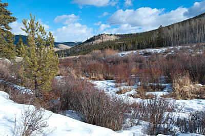 Photograph - Kenosha Pass Winter Landscape by Cascade Colors