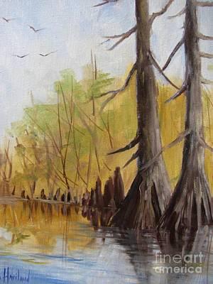 Painting - Ken's Bayou by Barbara Haviland