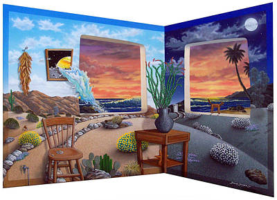 Acrylic Painting - Ken's Place by Snake Jagger