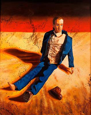 Ken Painting - Ken's Remorse by Karl Melton