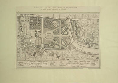 Cartography Photograph - Kensington Town Palace by British Library