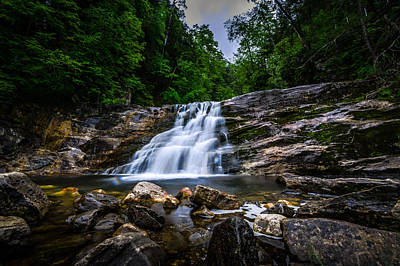 Photograph - Kent Falls 2 by Randy Scherkenbach