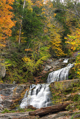 Kent Falls Photograph - Kent Falls Autumn by Bill Wakeley