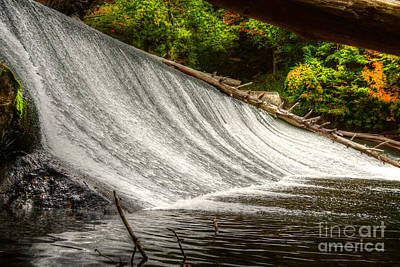 Photograph - Kent Falls Connecticut by Kathy Baccari