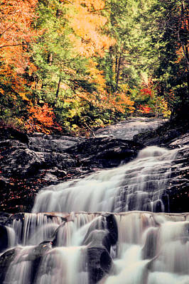Photograph - Kent Falls  by Jim DeLillo