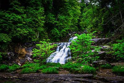 Photograph - Kent Falls by Randy Scherkenbach