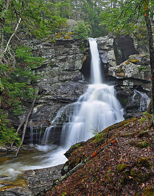 Photograph - Kent Falls State Park Ct Waterfall by Glenn Gordon