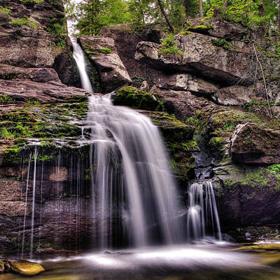 Kent Falls Photograph - Kent Falls - Upper by David Hahn