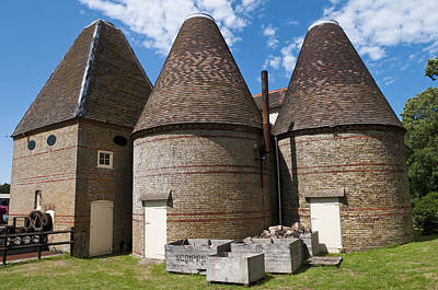 Photograph - Kent Oast Houses by Mick House