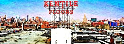 Kentile Floors Art Print