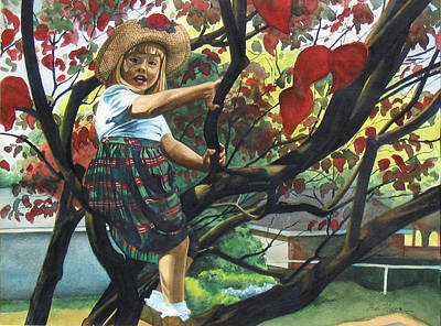 Tomboy Painting - Kentucky Belle by Heidi E  Nelson