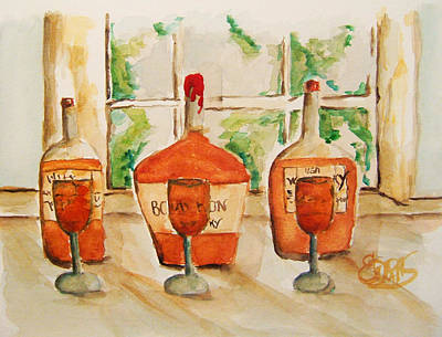 Kentucky Bourbon Sampler Art Print