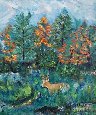 Painting - Kentucky Buck by Shelley Jones