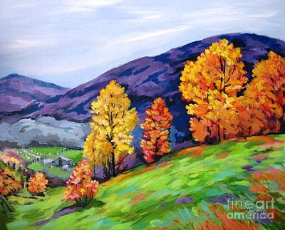 Painting - Kentucky Hillside by J Linder