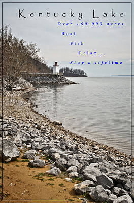 Photograph - Kentucky Lake Inlet Lighthouse Travel by Greg Jackson
