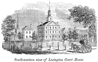 Kentucky Painting - Kentucky Lexington, 1861 by Granger