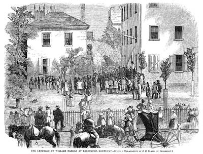 Kentucky Lynching, 1858 Print by Granger