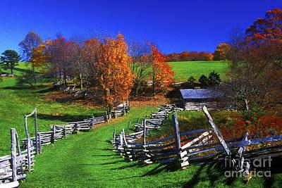 Split Rail Fence Photograph - Kentucky Settlement by Paul W Faust -  Impressions of Light