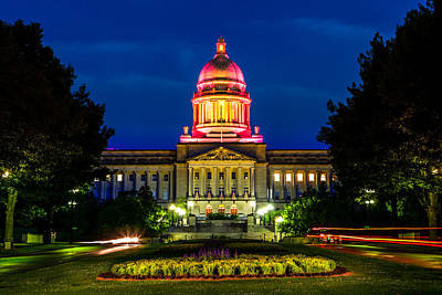 Kentucky State Capitol Print by Alexey Stiop