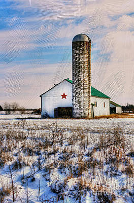 Kentucky Winter Art Print by Darren Fisher