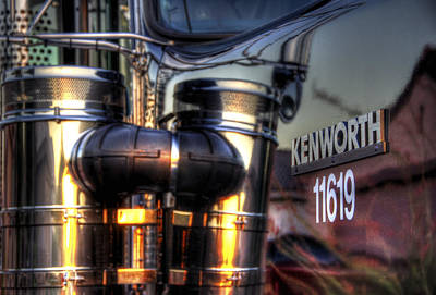 Jerry Sodorff Royalty-Free and Rights-Managed Images - Kenworth 11619 34712 by Jerry Sodorff